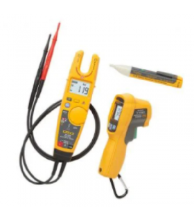 Fluke T6-600/62MAX+/1AC Thermometer, Electrical Tester and Voltage Detector Kit